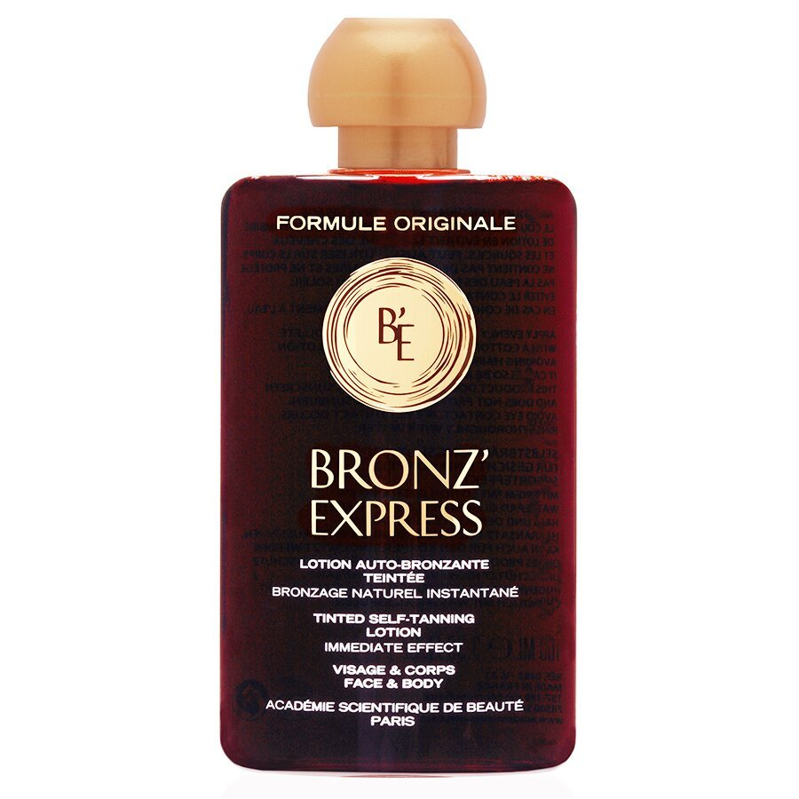 Лосьон-автозагар для лица и тела Academie Bronz'Express Face and Body Tinted Lotion Academie Bronz'Express Lotion Auto-Bronzante Teintée Bronz'Express 100 мл - основное фото