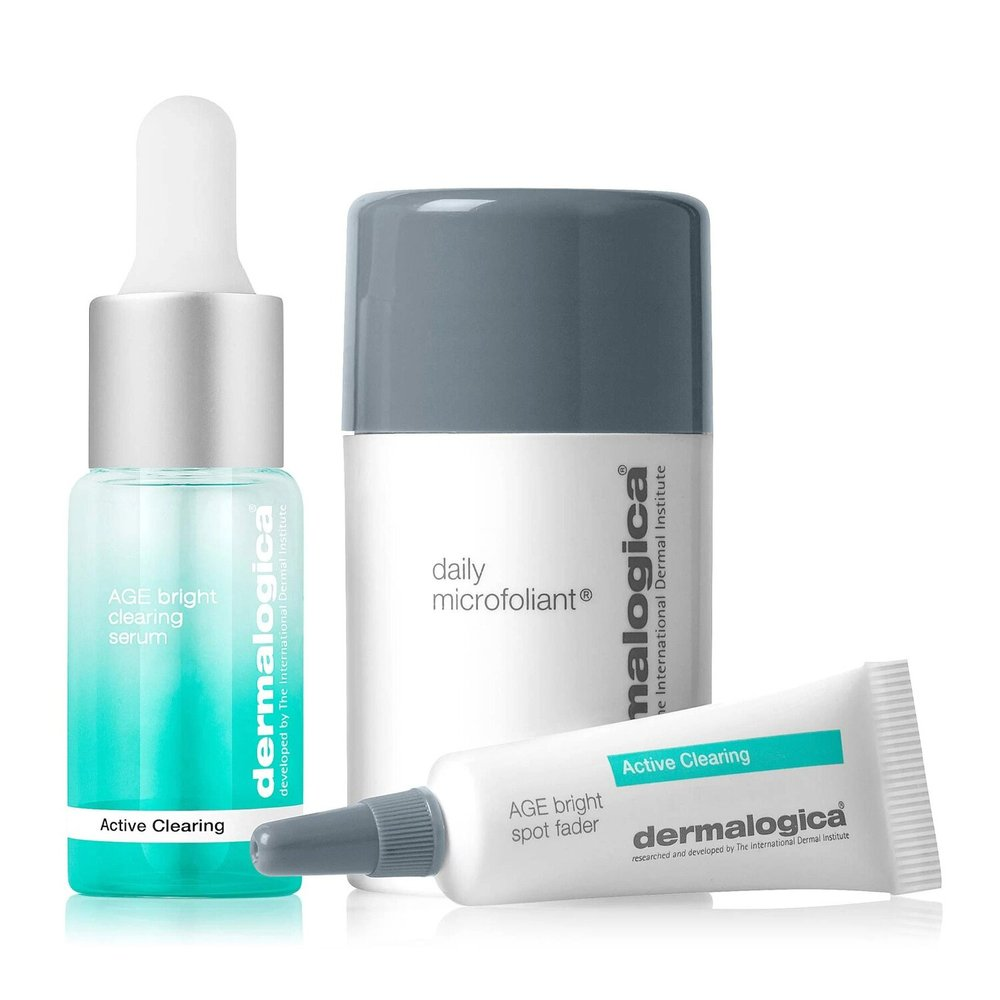 Набор для проблемной кожи Dermalogica New Active Clearing Clear + Brighten Kit - основное фото