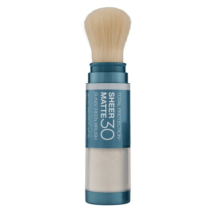 Матирующая солнцезащитная пудра SPF 30 ColoreScience Sunforgettable Total Protection Sheer Matte Sunscreen Brush SPF 30 4,3 г - основное фото