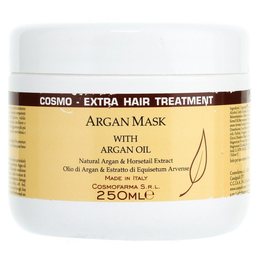 Маска-кондиционер с аргановым маслом Cosmofarma JoniLine Classic Nutri Mask Conditioner With Argan 250 мл - основное фото