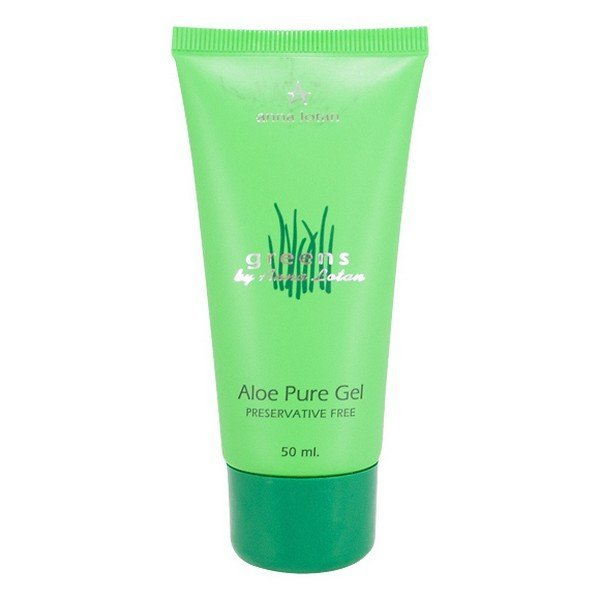 Гель с алоэ вера Anna Lotan Greens Aloe Pure Natural Gel - основное фото